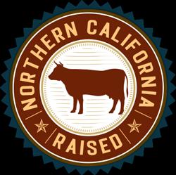 Northern California Raised Cattle Logo